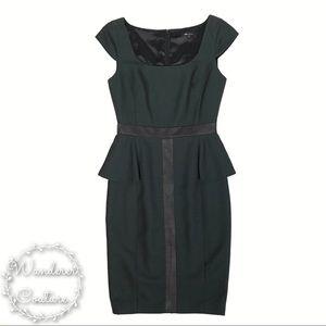 Jaygodfrey Peplum Clement Sheath Dress